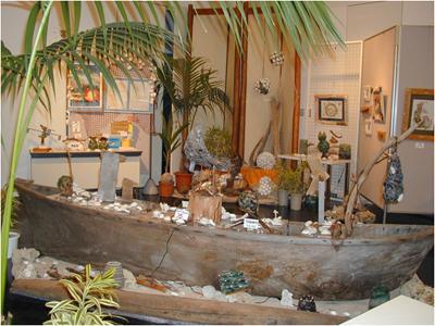 2001年6月20日~7月2日 NPO日本渚の美術協会「シーボーンアート」展開催