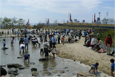 2007年4月28日 蛇の目ビーチ海開き