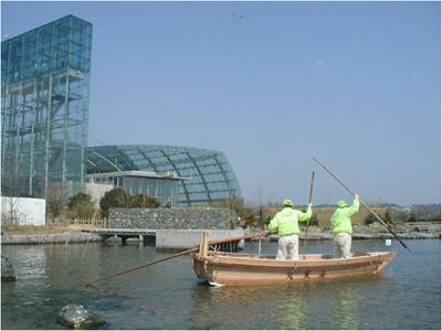 2009年3月31日 伝馬船進水式