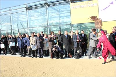 2014年2月22日 クウェート・ふくしま友好記念日本庭園オープン