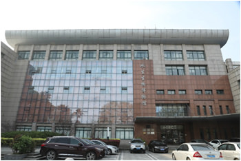 中国科学院水生生物博物館の外観