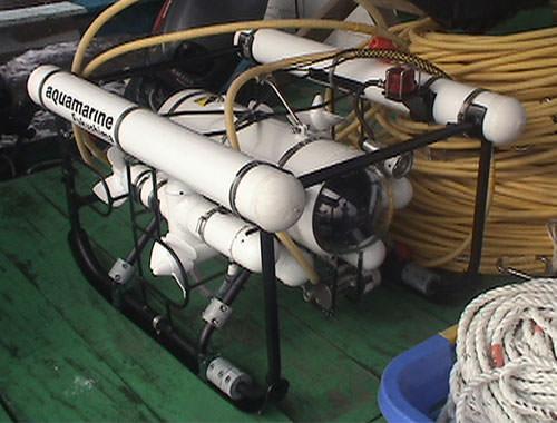ROV(自走式水中カメラ)