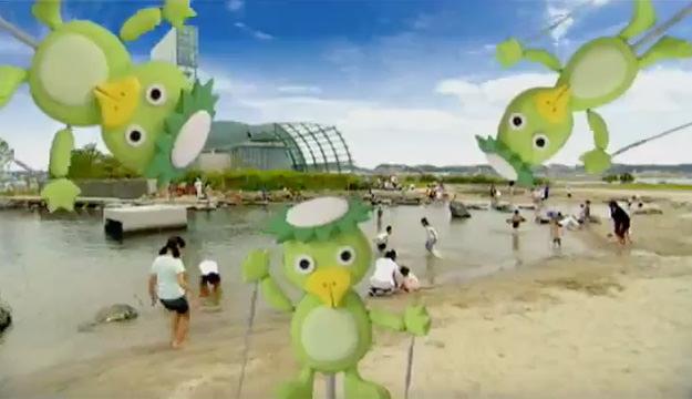 テレビCM「蛇の目ビーチオープン」