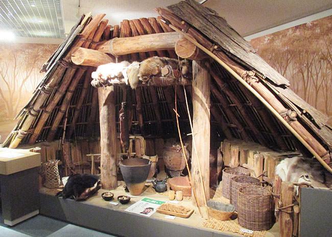 縄文時代の住居例