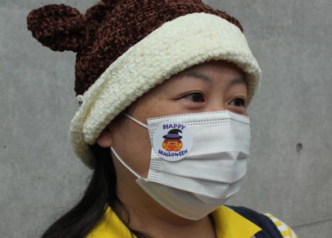マスク-無料配布シール