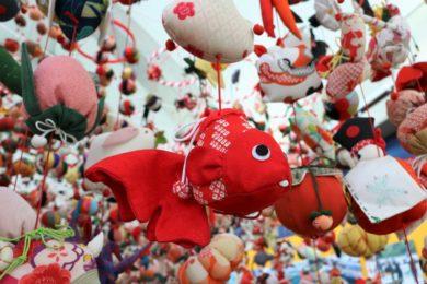 アクアマリンのひな祭り_つるし飾り2019