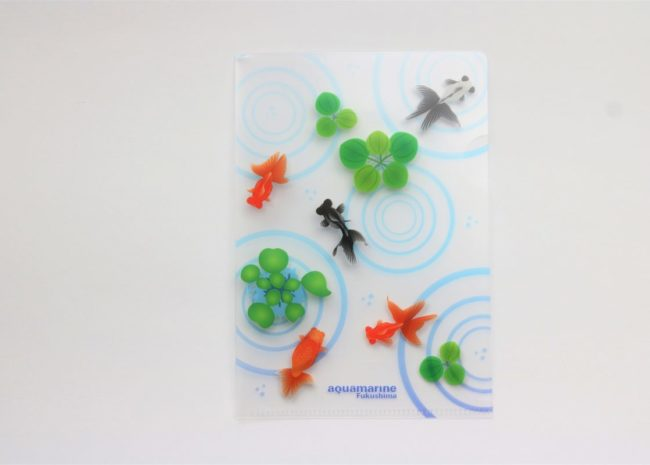 金魚A6クリアファイル180円